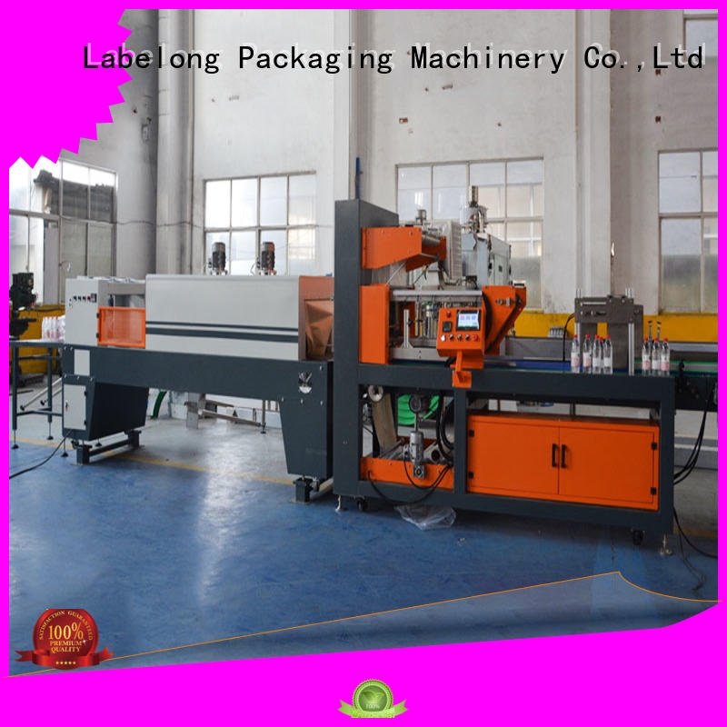 Labelong Packaging Machinery automatic shrink packaging machine high speed for cans