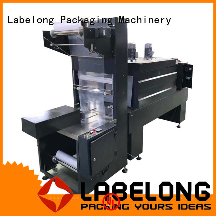 Labelong Packaging Machinery automatic shrink packaging machine plc control system for plastic bottles for glass bottles