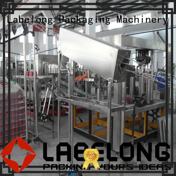 Labelong Packaging Machinery automatic juice bottling machine easy opearting for mineral water, for sparkling water, for alcoholic drinks