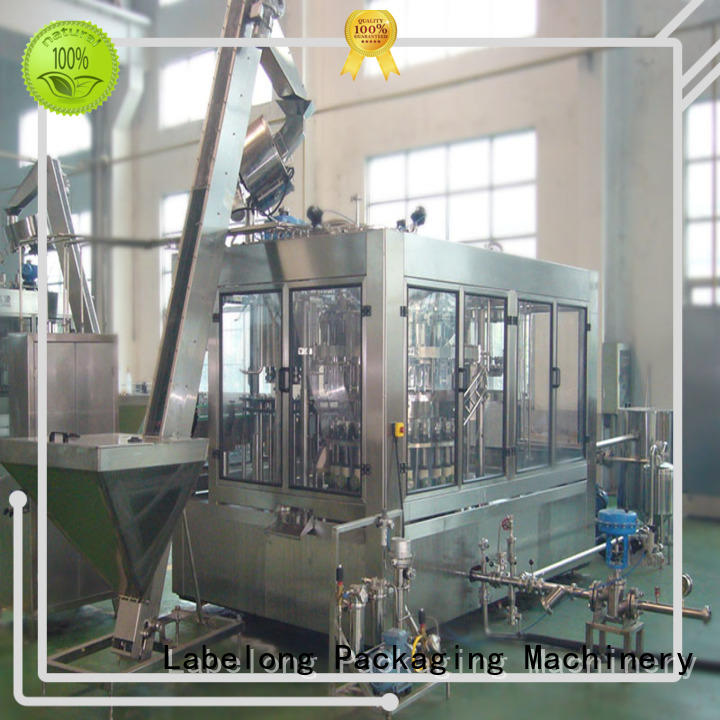 high quality water filling machine easy opearting for flavor water