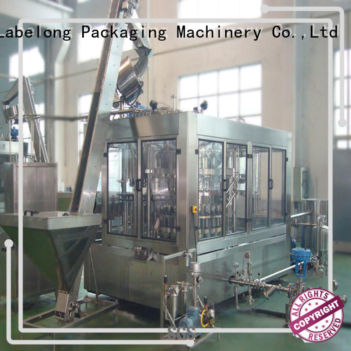 Labelong Packaging Machinery intelligent bottled water machine for still water