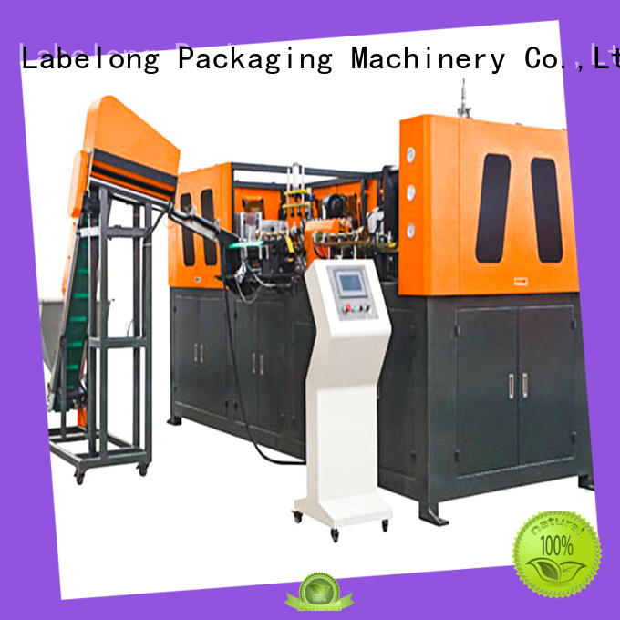 Labelong Packaging Machinery full semi-automatic blowing machine with hgh efficiency for pet water bottle