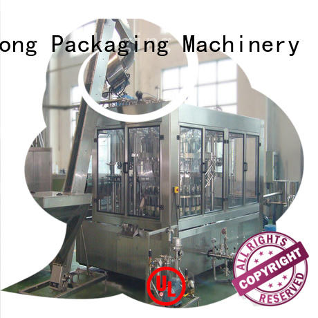 automatic 5 gallon bottle filling machine compact structed for wine