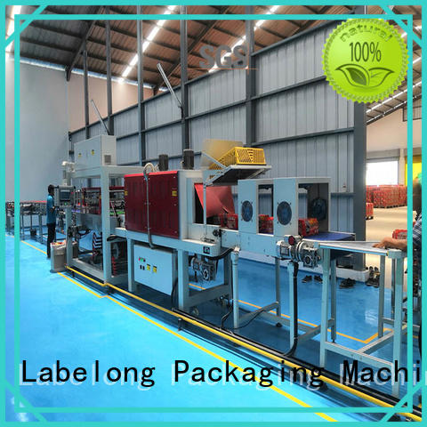 Labelong Packaging Machinery l-type plastic wrapping machine for jars